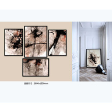 Oil Paintings Artwork on Canvas abstract handpaint wall art wall Painting Frame