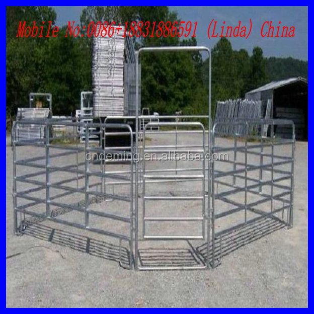 galvanized sheep corral panels ( factory & exporter )