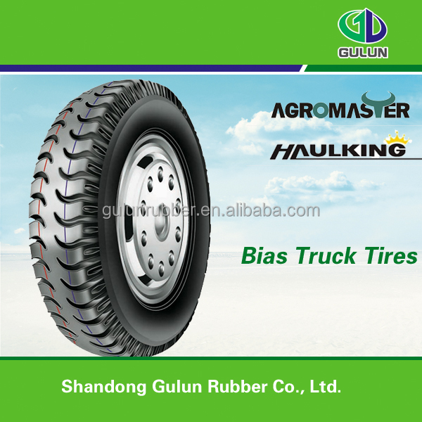 wide tread and streamline pattern design light truck tire Rib and Lug 6.00-14
