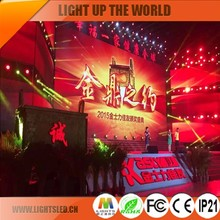 Clear Indoor 3mm Stage LED Video Wall Screen For Concert
