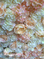 AFW1510 flower wall backdrop tiles for wedding decoration