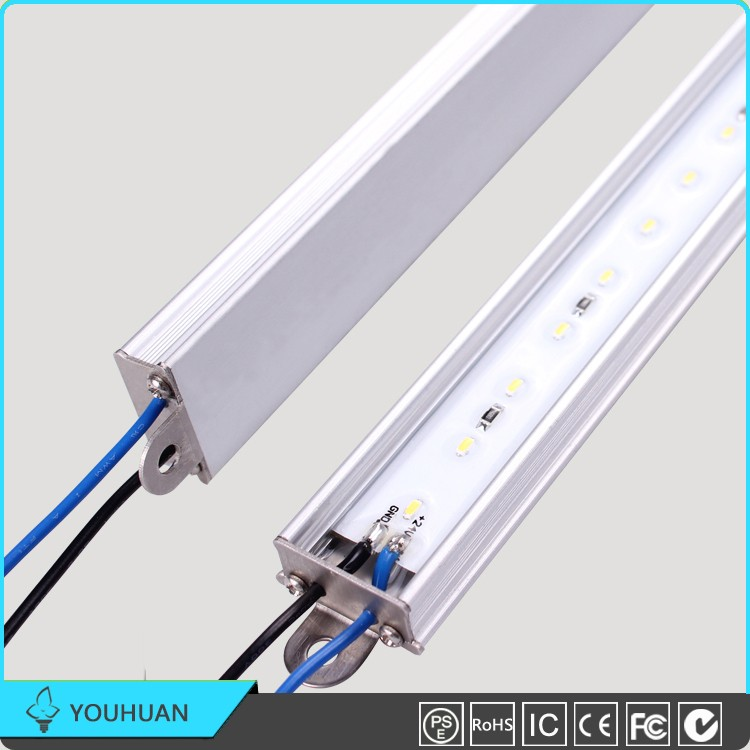 Hangzhou Factory Low Price Aluminum Housing 60leds/<strong>m</strong> 14.4W Waterproof Led Strip Light