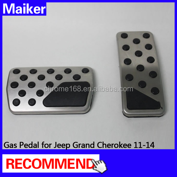 High quality gas pedal For Jeep Grand Cherokee11-14 cars 4*4 accessories for jeep cherokee kj
