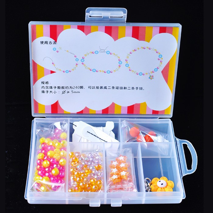 new arrival loose beads candy colorful DIY beads making kit