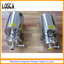 stainless steel food grade Sanitary Centrifugal pump milk pump