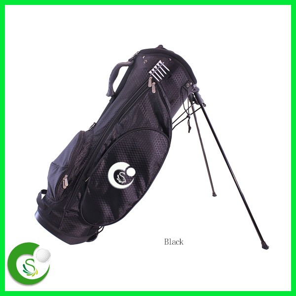 OEM logo custom golf bag with stand