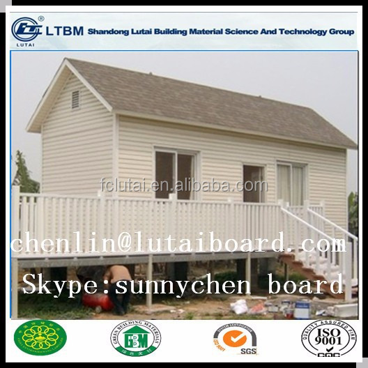 External fireproof wood grain fiber cement siding