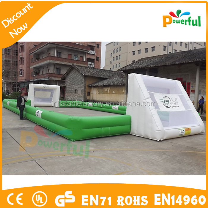 soccer field with removable banners,advertising soccer field for sale