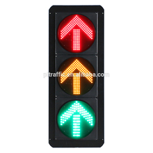 Modern design led bicycle signal portable traffic light solar power traffic light