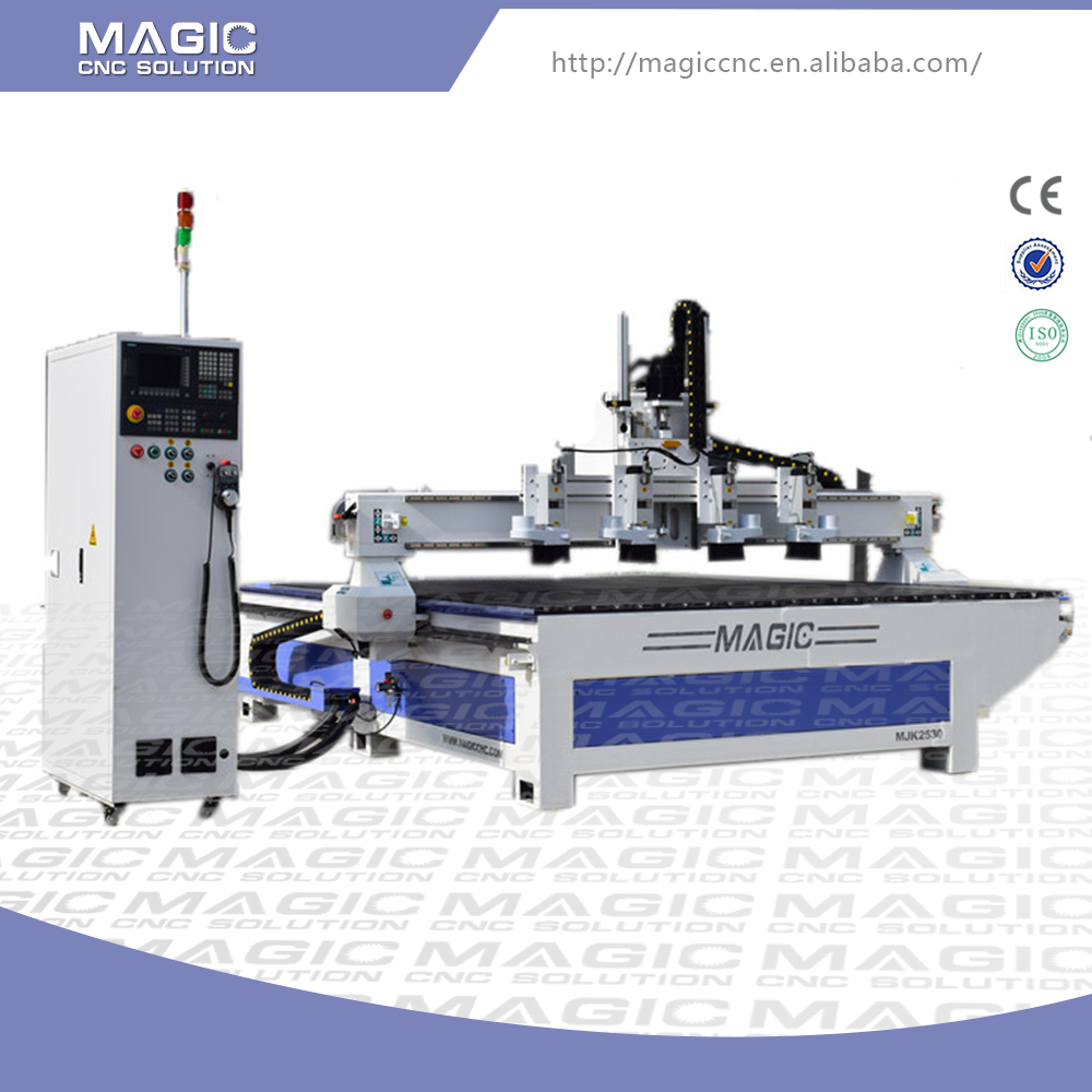 Efficient professional China 4 axis cnc router engraver machine