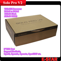 Solo Pro with Chipset BCM7325 Solo v2 Receiver 751 MHz MIPS Processor Cloud Ibox Solo V3.0 for Euro 4k satellite receiver