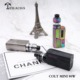 Teslacigs Colt mini 80w vaping mods, Stylish appearance design and bright OLED screen