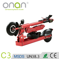 ONAN Electrical Folding Scooter/Electric Portable Motorbike/Two Wheel Foldable Motorcycle