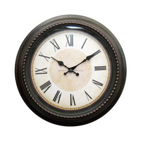 Quartz Analog Type Plastic Wall Clock