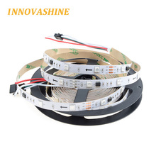 3 pin flexible rgb dream color digital addressable pixel flashing 12v 5050 ws2811 led strip with 3m adhesive tape