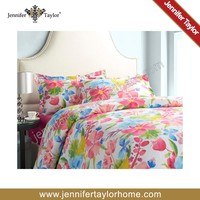 Home textile printed cotton luxury wedding duvet cover set /comforter set