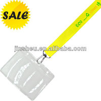 cheap lanyards/ lanyards id badge holder