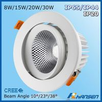lamp holder saa 13w samsung led downlight 2015 highest demand products CE TUV ETL IP65 downlight