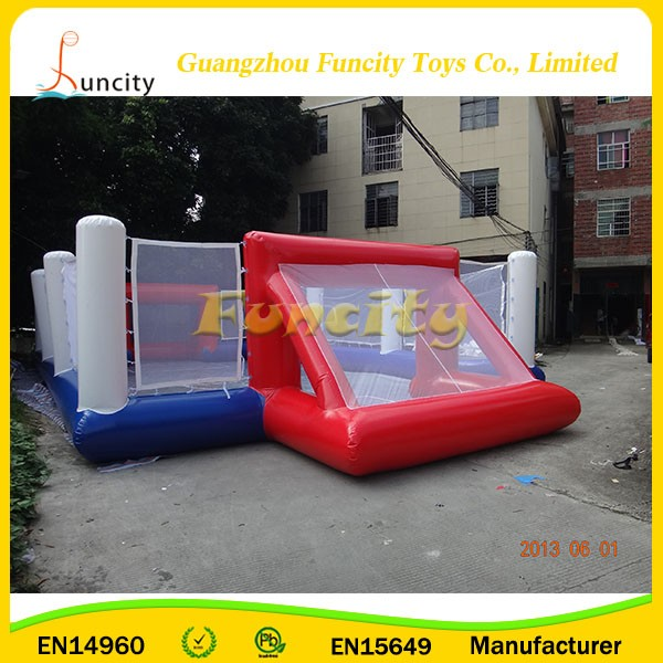 hot sale high quality useful cheap price big water inflatable football filed