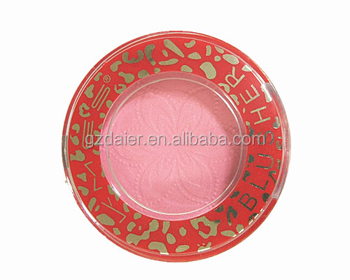 C-514 blusher in round plastic box kmes blesher platte cosmetic