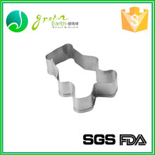 Factory wholesale cookie tools FDA stainless steel rose cookie mould cheap bulk metal cookie cutters