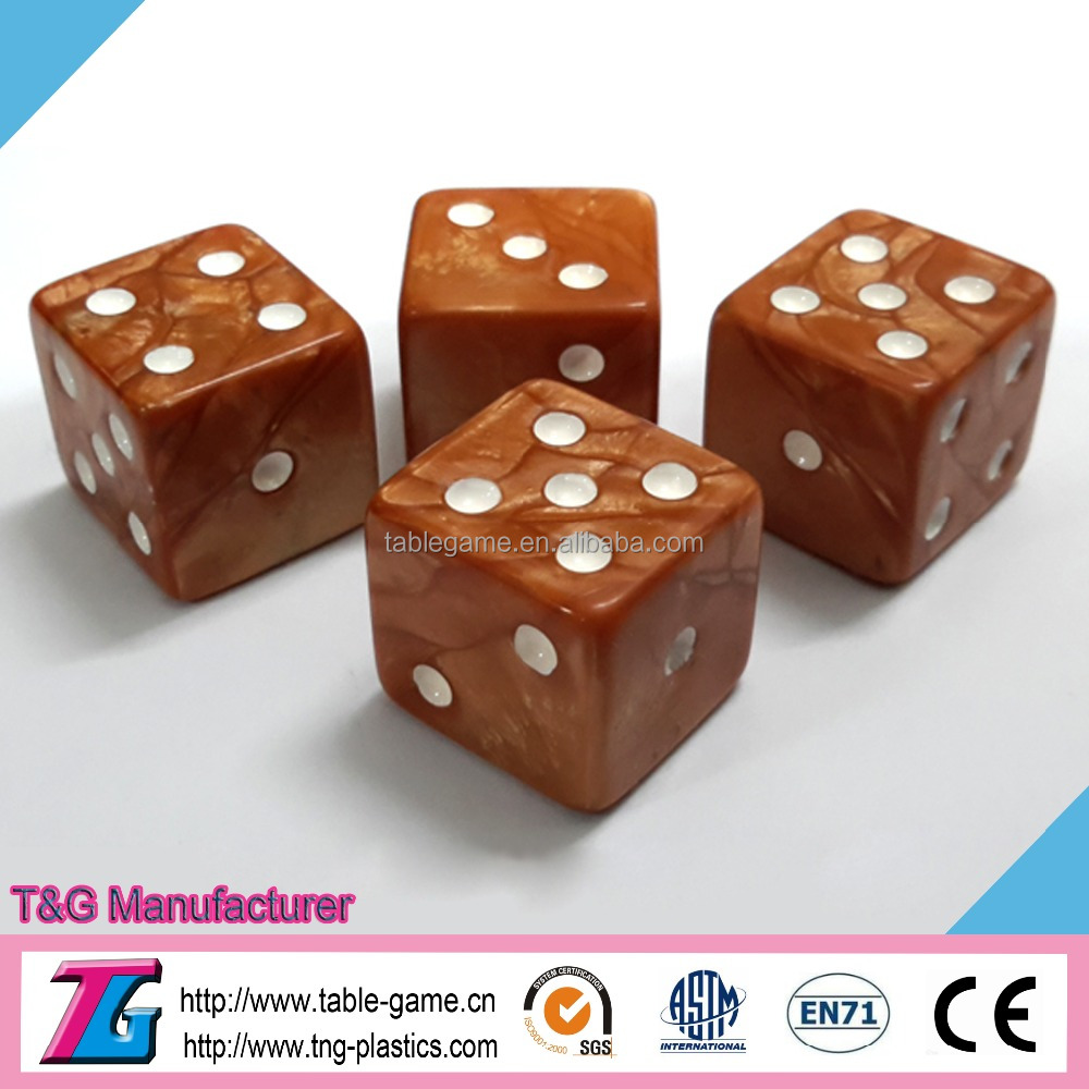 High quality resin emotion dice