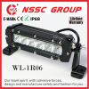 Waterproof led light bar, led bar light, 10-30V led work light white 6000k Waterproof 6 Inch 30W light bar