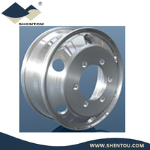 Truck Trailer Alloy Aluminum Wheel Rim with Vent Hole 6 8 10