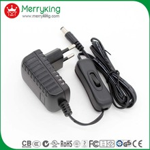 electric power supply portable ac dc adapter 12v 5a 3a switching power charger with UK AU EU US plugs
