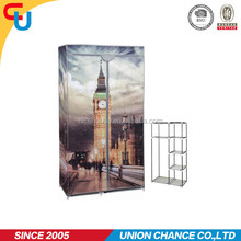 Big ben London printing cheap diy assemble wardrobe for home storage