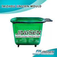 plastik injection trash can mould