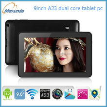 android tablet pc best 9 inch boxchip A23 DUAL core laptop and tablet manufacturer