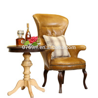 Factory direct Strong antique restaurant relaxing single sofa chair