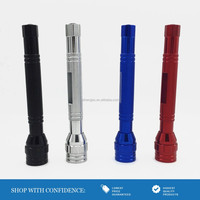 HB_2806 6 LED push button telescopic & flexible flashlight with magnet