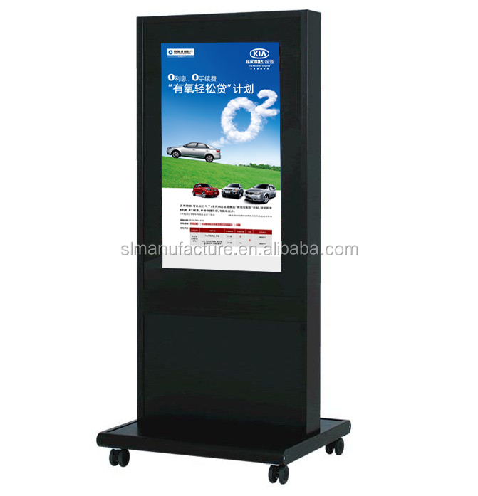 65 inch AD player with factory price 1 year product warranty indoor floor stand digital signage