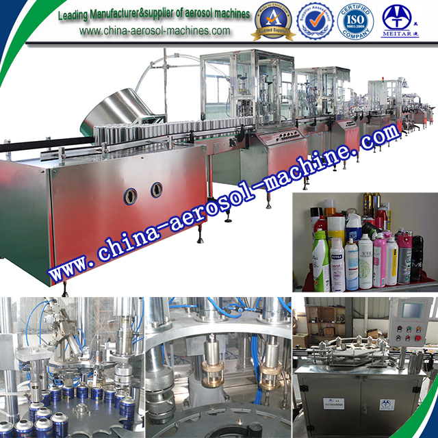 factory price spray can filling machine from biggest manufacturer in china