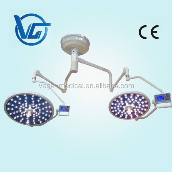 Dual Dome Surgical Shadowless LED Operating Lamp