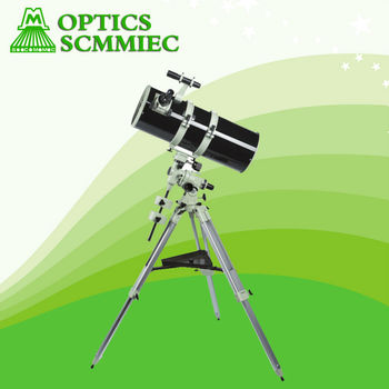F800203 spherical surface equatorial newtonian reflector telescope with best price astronomical telescope for astronomical obser