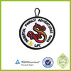 China personalized embroidery 2015 round luggage bag tag