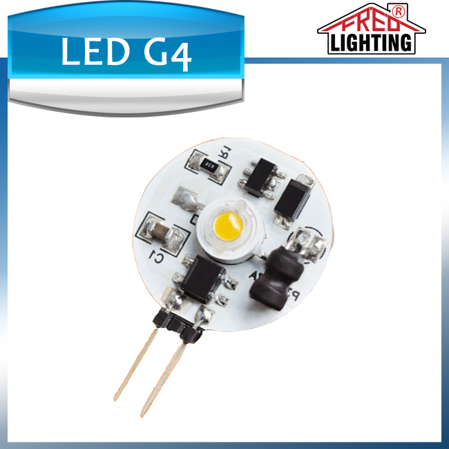 Shenzhen factory Hot sales led lamp 1W 90lm white LED G4 bulb for car