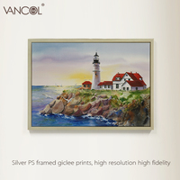 Landscape Handmade Unique Boat Oil Painting On Canvas Acrylic Paintings With High Quality No Frame Oil Painting