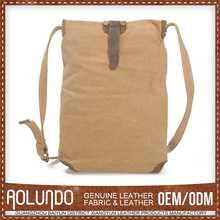 Factory Price Newest Design Custom Color Canvas & Leather Bali Bag Manufacturers