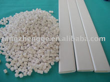 PVC Granules Plastic Profiles Soft PVC Hollow Profile