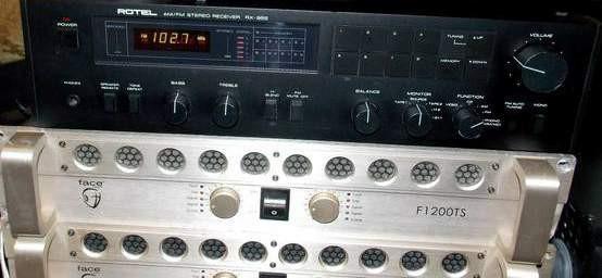 Face Audio F1200TS 2000 watt power amlifier