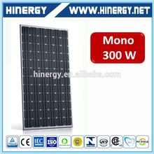 Portable 300w monocrystalline solar module with lower price a-grade cells solar panel poly 300w made in Taiwan