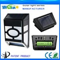 original manufacturer garden new lamp with solar panel (item: YH0604A)