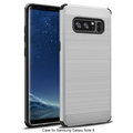 DFIFAN Wire drawing mobile back cover for samsung galaxy note 8 Alibaba best sellers hard case for samsung note 8