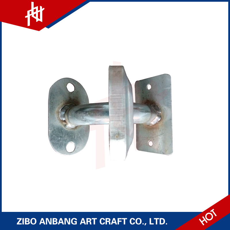 decorative galvanized locking collar welding bars studs for stainless steel handrail design for stairs