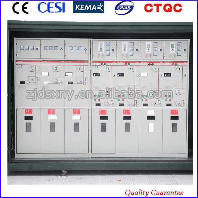 12kV SF6 China Manufacture Gas Insulated Switchgear GIS