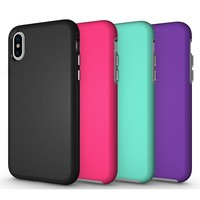 For iphone 8 case, strong protective pc tpu shockproof back cover